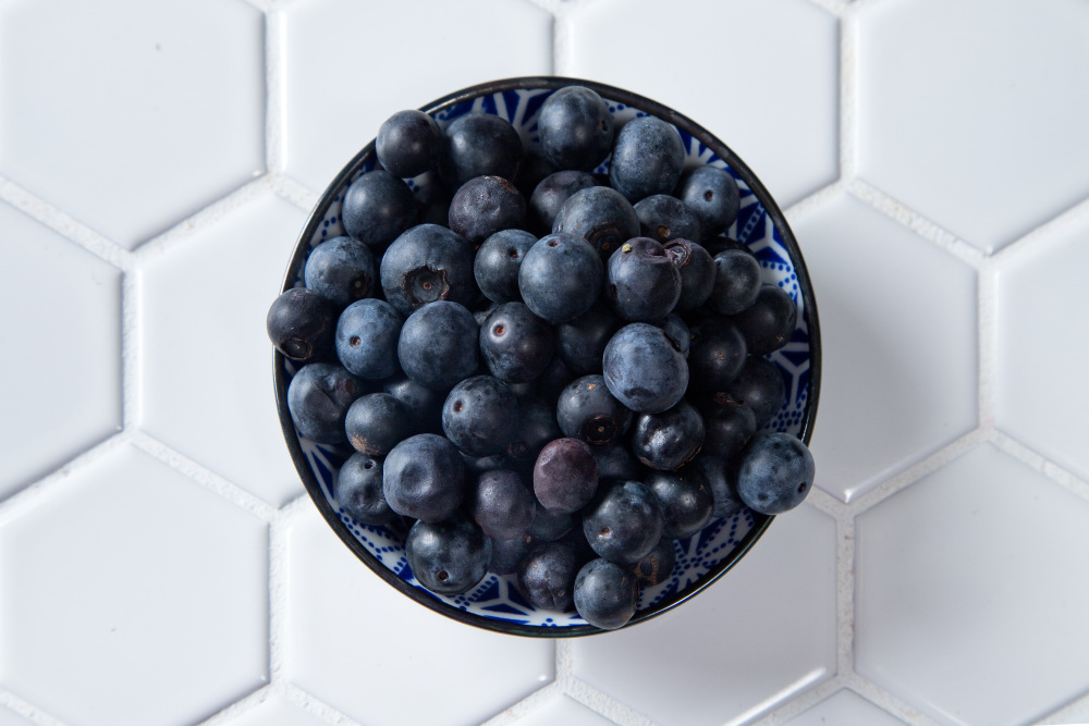 Blueberries in a bowl - How To Grow Blueberries