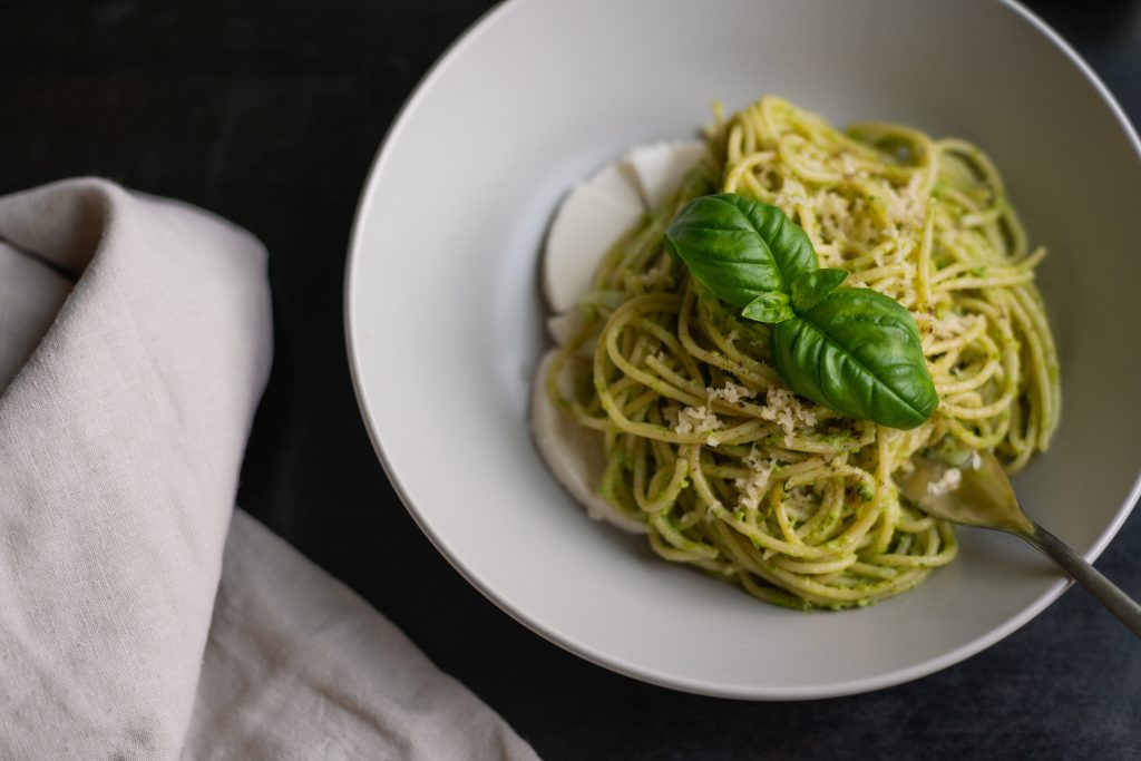 Basil Pesto Pasta Dish - 7 Tips To Grow Basil
