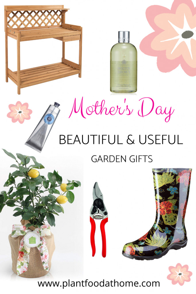Mother's Day Garden Gift Ideas Beautiful and Useful