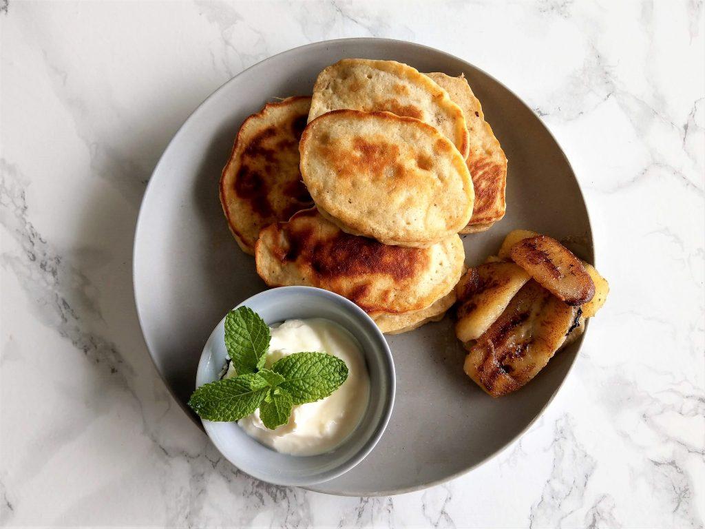 Banana Pancake Fritters
