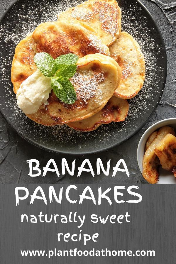 Banana Pancake Recipe Naturally Sweet