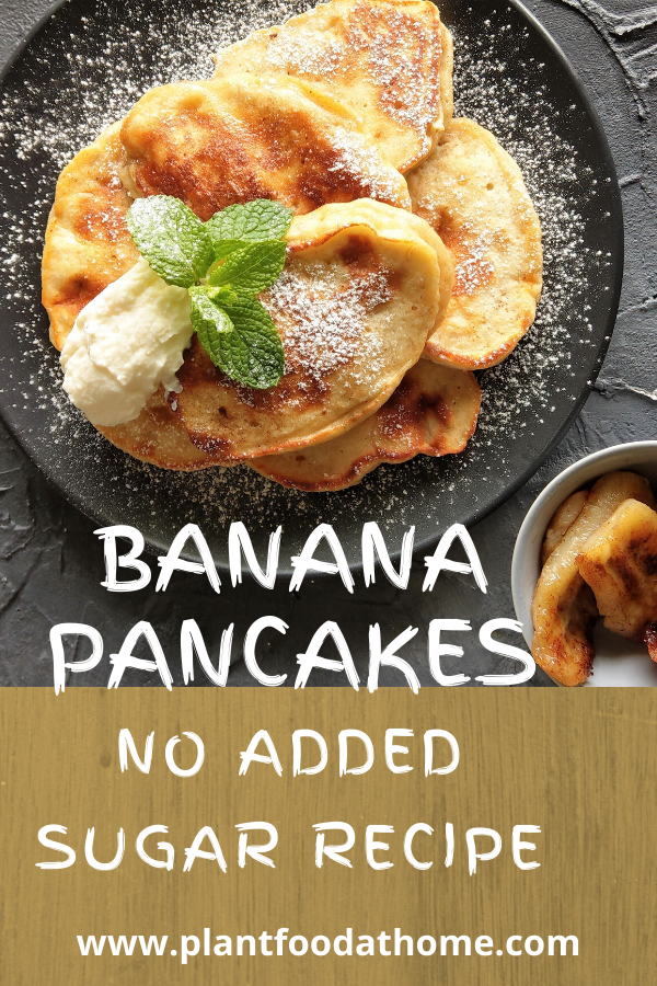 Banana Pancake Recipe No Added Sugar