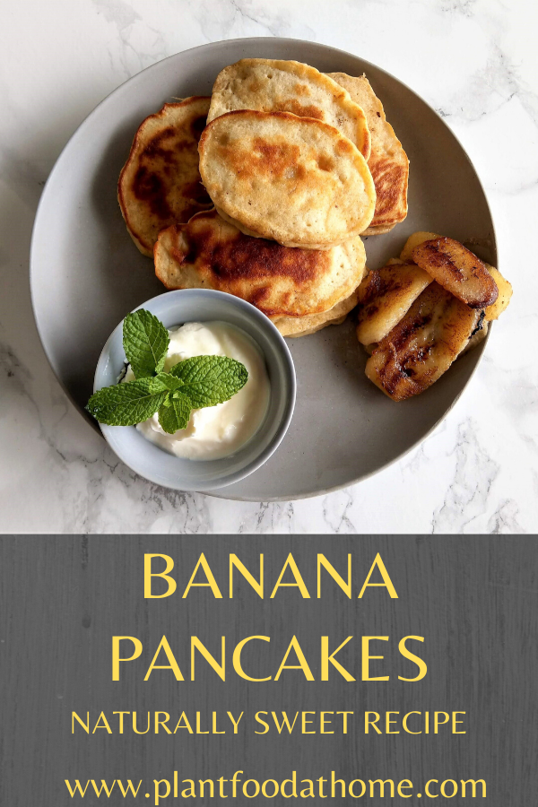 Banana Pancakes Naturally Sweet Recipe