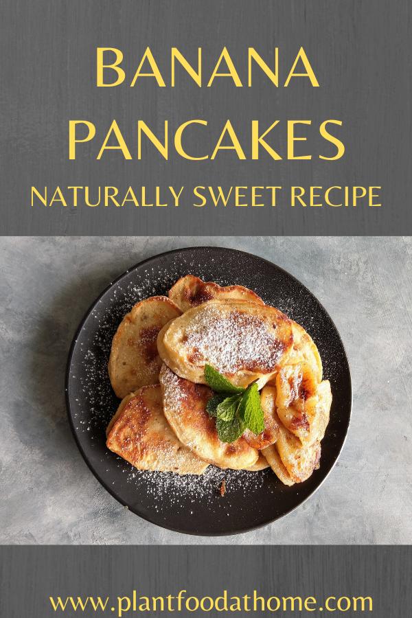 Banana Pancakes Recipe No Added Sugar