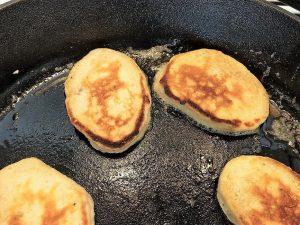 Cooking Banana Pancakes Recipe