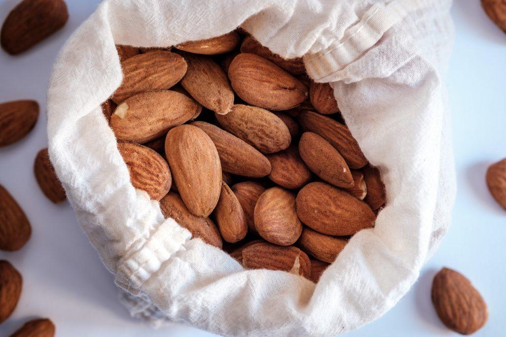 Almonds for Almond Pesto Recipe