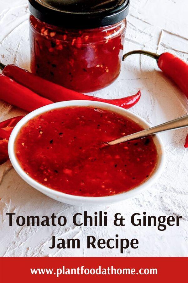 Tomato Chili Jam Recipe