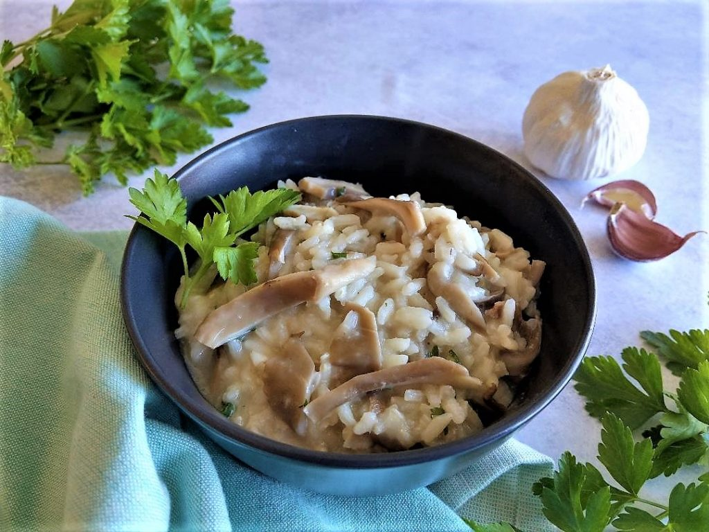 Delicious Oyster Mushroom Risotto Recipe