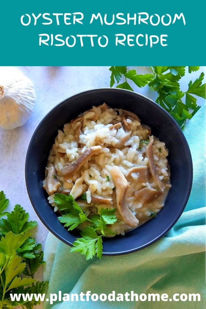 Easy Oyster Mushroom Risotto