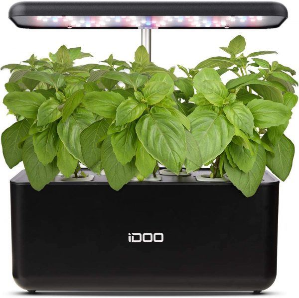 iDOO Indoor Herb Garden Kit - Best Indoor Herb Garden Kit