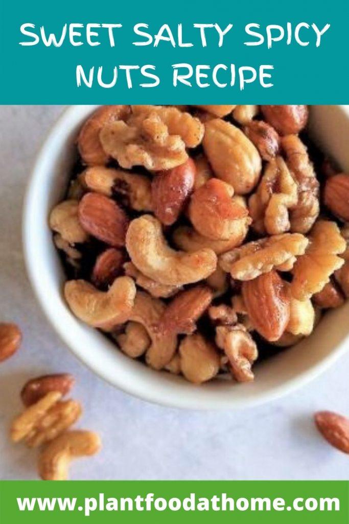 Best Sweet Salty Spicy Nuts Recipe