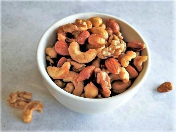 Sweet Salty Spicy Nuts Recipe