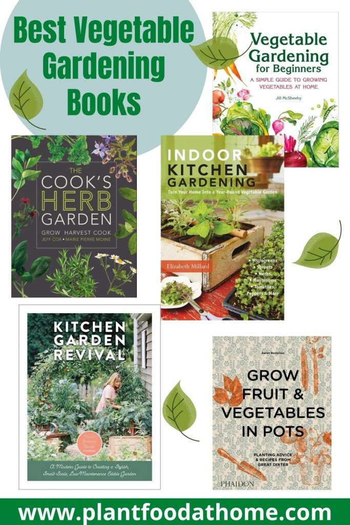 Best Vegetable Gardening Books Review