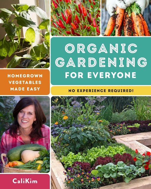 Organic Gardening for Everyone - Best Vegetable Gardening Books