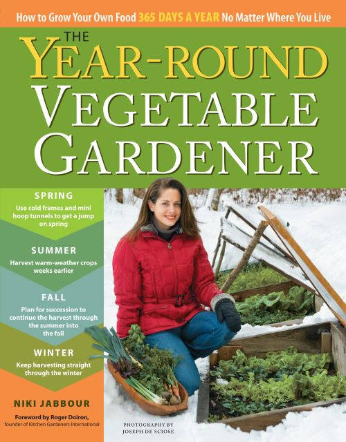 Year-Round Vegetabler Gardener - Best Vegetable Gardening Books