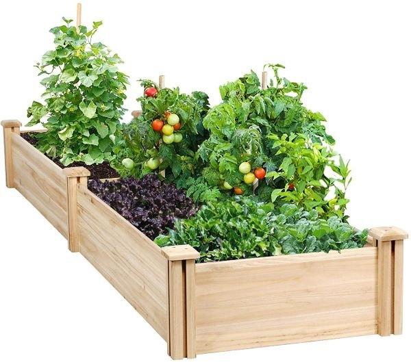 Yaheetech Raised Garden Bed Kit - Best Raised Gardening Beds Reviewed