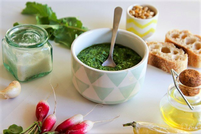 Radish Pesto - How to Eat Radish Greens
