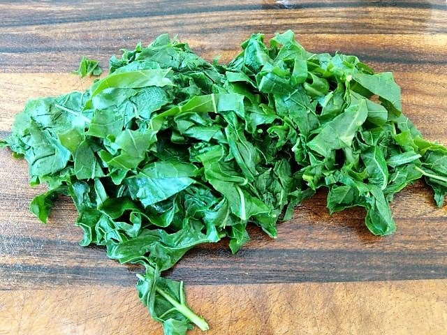 Blanched Kale - How to Freeze Kale