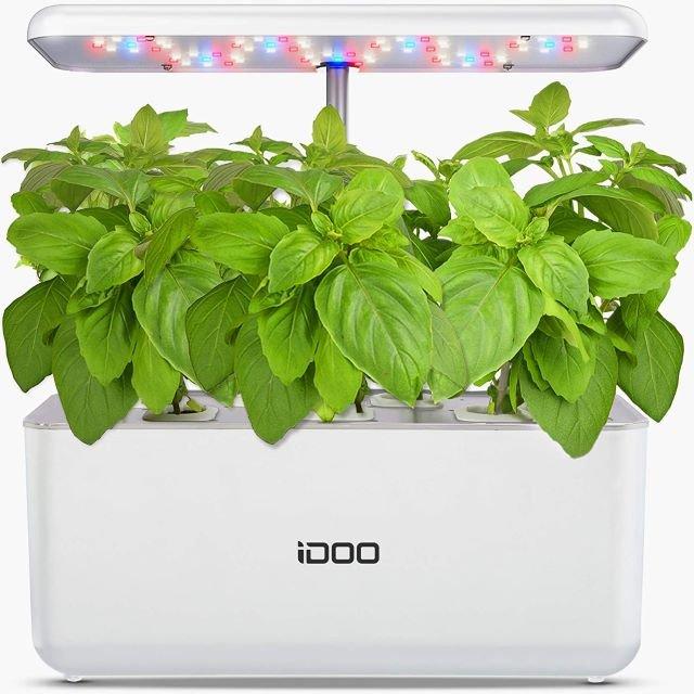 iDoo Hydroponic Indoor Garden - Best Indoor Vegetable Garden System