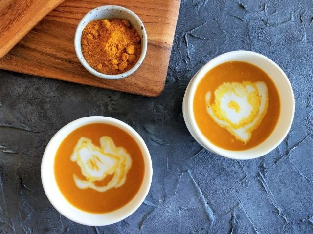 Coconut Curry Pumpkin Soup Recipe 3 Ingredients 2