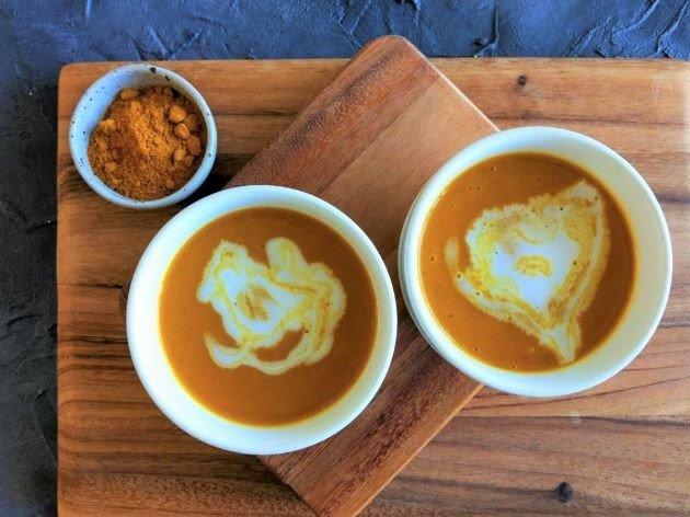 Coconut Curry Pumpkin Soup Recipe 3 Ingredients 4