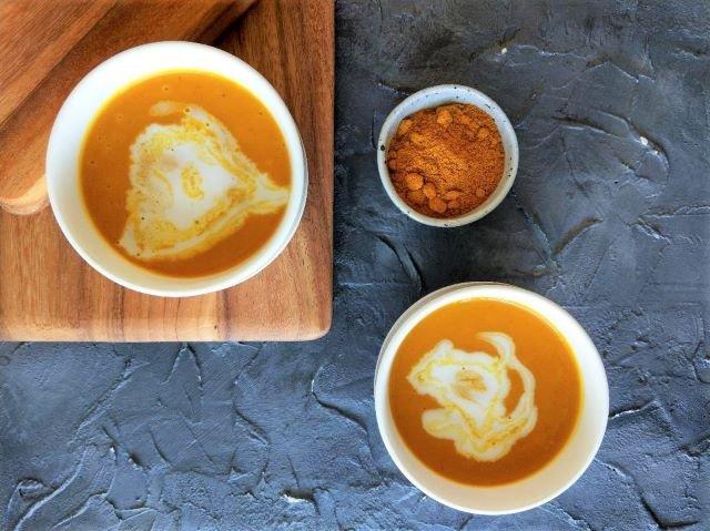 Coconut Curry Pumpkin Soup Recipe 3 Ingredients 5