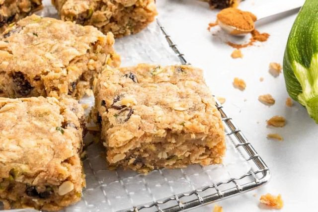 Cooking With Zucchini Dessert and Sweet Recipes - Bars