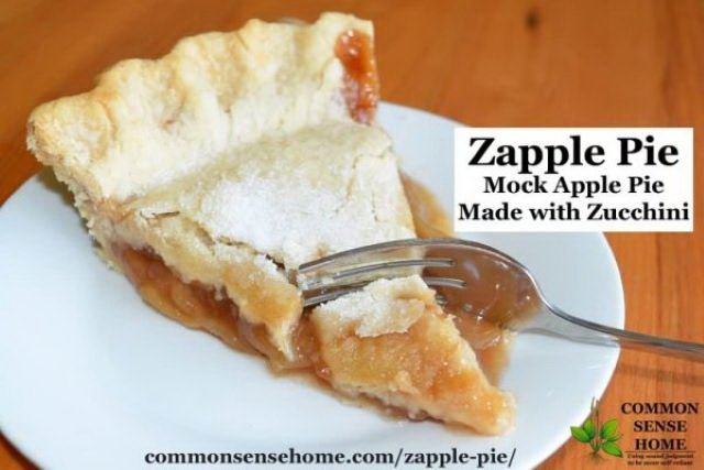 Cooking With Zucchini Dessert and Sweet Recipes - Pie