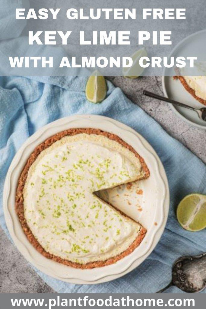 Easy Gluten Free Key Lime Pie with Almond Crust Recipe