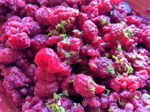 Raspberry and Lime No Churn Ice Cream Recipe