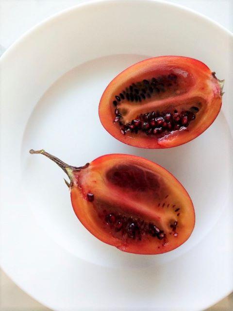 How to Eat Tamarillo Fruit
