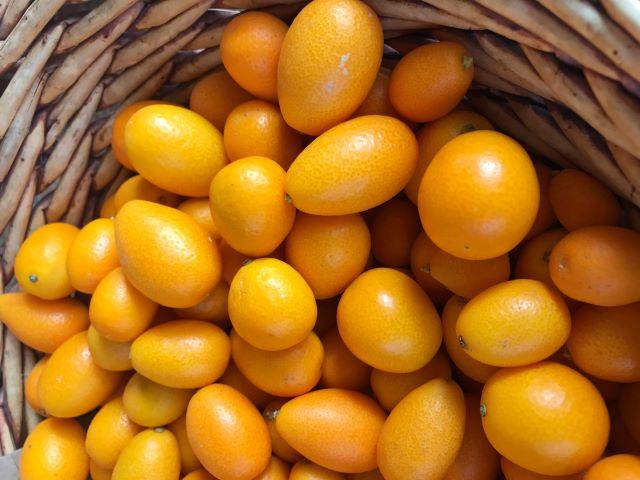 Eating Kumquats and Recipe Ideas - Basket of Kumquats