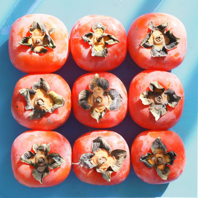 Eating Persimmons and Recipe Ideas - Astringent Persimmons