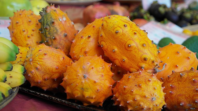 Growing Kiwano Melon and Eating the Fruit