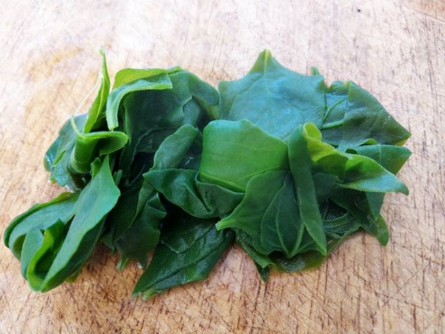 Warrigal Greens Blanched and Ready to be Eaten