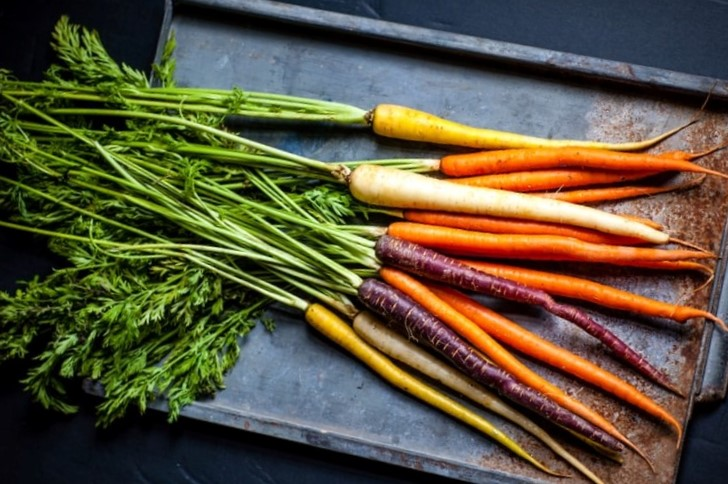 Eating Carrot Tops with Recipe Ideas - Carrots with Leafy Tops