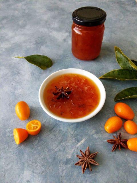 Kumquat and Star Anise Jam
